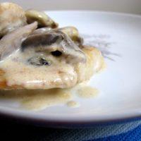 חזה עוף בשמנת ופטריות