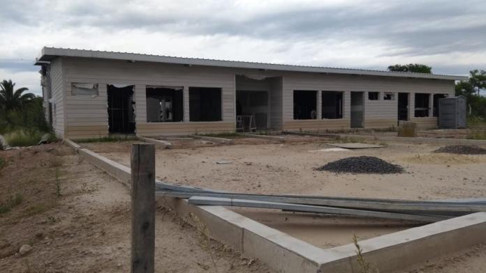 Gestión del intendente AlvarezReiniciaron las obras de un jardín de infantes, tras el abandono de la gestión de la gobernadora Vidal