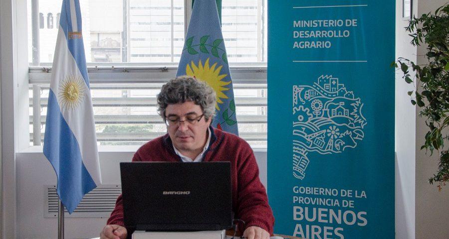 Javier Rodríguez, Desarrollo Agrario provincialUn ministro explica que la producción apícola bonaerense representa el 53% del total del país