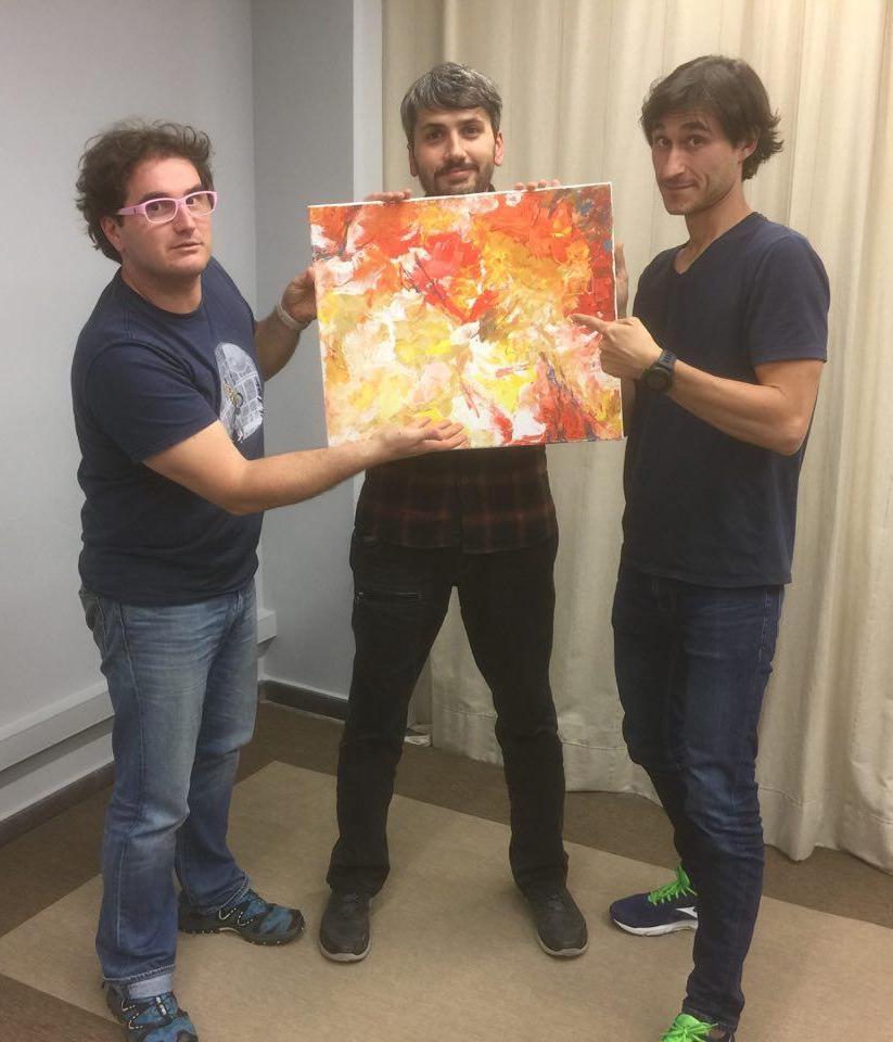 Marc Alier, Carles Caño y Daniel Amo