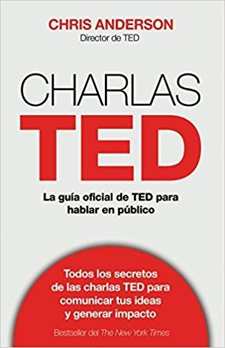 """Portada del libro """"Charlas TED"""" de Chris Anderson"""