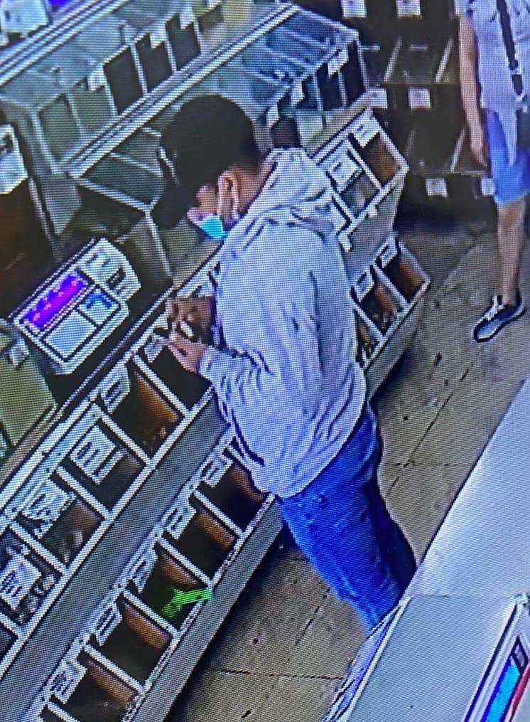 Victima antes de ser atacado en el Mercado Hidalgo