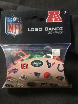 NHL Western Conference Official Logo Bandz 20-Pack Forever Collectibles NIB