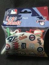 MLB American League Official Logo Bandz 20-Pack Forever Collectibles NIB