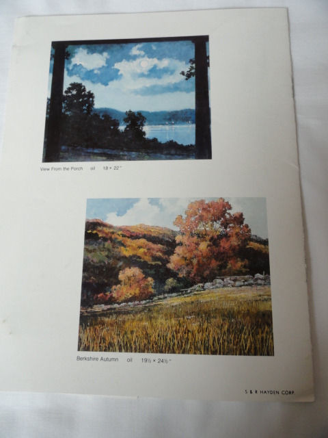 Art Book Catalog Eric Sloane Brochure 8 Pages 1978 Please see pictures