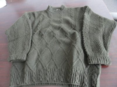 Vtg Women Designer Sweater United Colors Of Benetton Shetland Wool Italy 54 Eur