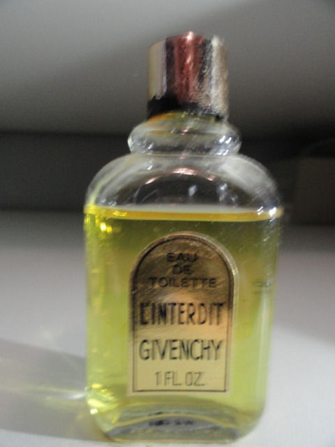 Vintage Perfume Eau de Toilette L Interdit Givenchy 1 Fl Oz Almost Full