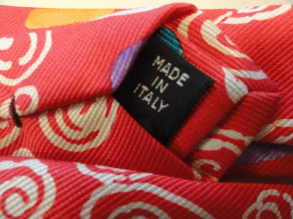 Vintage Men's Tie By TIMNEY FOWLER LONDON 100% SETA SILK Made In Italy Ex Cond