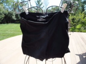 Women's Tek Gear Yoga Black Shorts XS NWOT