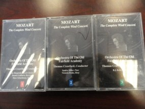 Vtg Musical Heritage Society Classical 3 Mozart Orchestra of The Old Fairfield