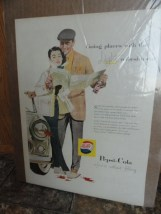 Vintage Pepsi Going Places With The Light Refreshment Pepsi Please Advertisement