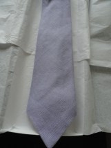 Vintage Men's ROOSTER Tie Lavender 100% Moygashel Irish Linen Made In USA NWOT