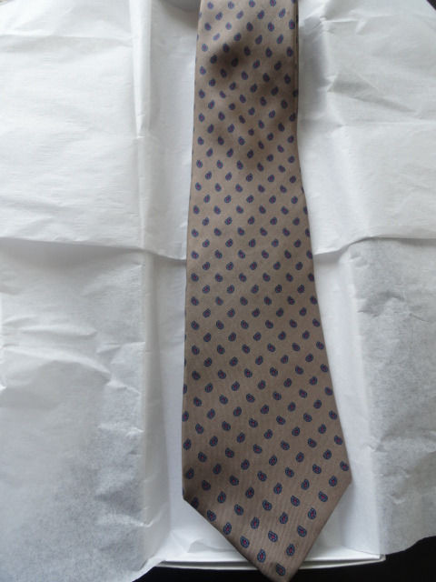 Vintage Men's Mini Paisley LIBERTY OF LONDON Tie Imported Fabric Made In USA