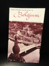Vintage 1965 Pan American's Guide To Belgium Travel Booklet New Horizons Guide