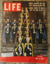 LIFE Magazine May 27, 1957 Knights of Columbus Honor Guard at Birthplace
