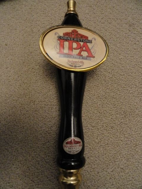 CORNERSOTNE IPA INDIA PALE ALE BEER ROCHESTER MILLS BEER CO  Tap Handle Used
