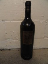 "RUFFINO GOLD CHIANTI  Dummy Display Wine Empty Glass Bottle 18"" Corked"