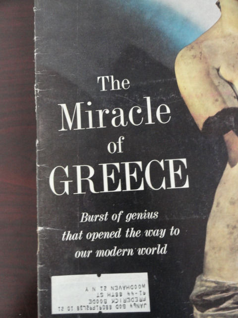Vintage Life Magazine January 4, 1963 The Miracle of Greece On Cover