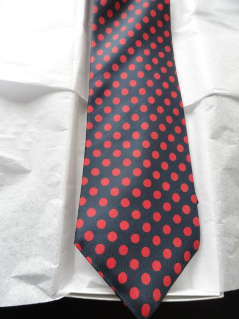 Vintage Men's Pride Of England Briar Tie Made For Campus Mens Shop Whalings