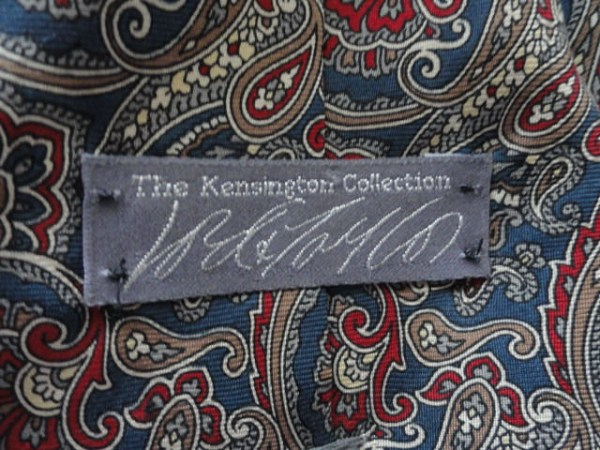 Vintage Men's Lord & Taylor The Kingston Collectiion Paisley Tie Imported Fabric