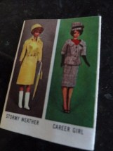 Vintage 1963 Barbie Magazine Mattel Inc Go Together Furniture Ex Cond