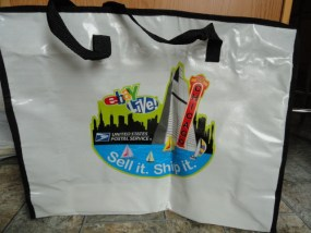 EBAY LIVE 2008 Chicago New Tote Bag United States Postal Service 20x16x6