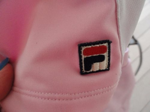 Girl's FILA Pink Black White Tennis Outfit Top XL Pleaded Skirt XL NWOT
