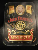 Jack Daniel's Old No 7 Brand Hinged Tin Hudson-Scott & Son Ltd Carlisle England