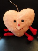 Vintage Kamar Valentine Pink SWEET HEARTS Stuffed Toy Style 3803 NWOT
