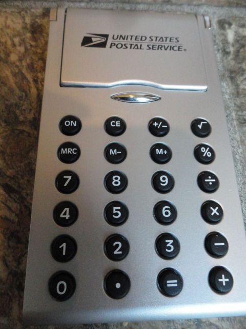 EBAY LIVE 2008 Chicago New United States Postal Service Calculator Needs Battery