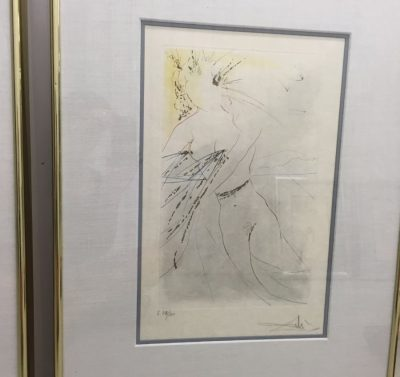 "Salvador Dali 1971 ""Thou Art Fair"" Song of Songs of Solomon Suite COA B. Ewell"