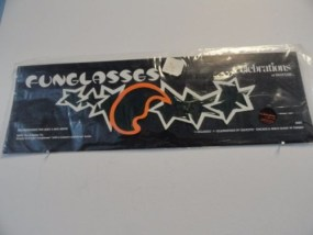 Vtg Moon & Stars FUNGLASSES By SILVESTRI Celebrations 15 x 5 Halloween NIB