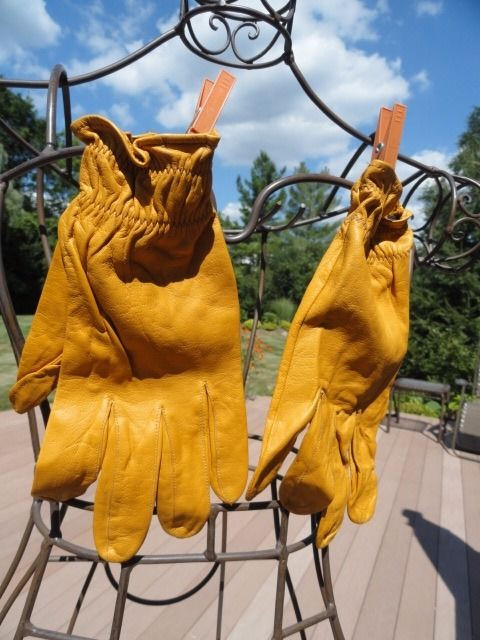 Vintage Women's J. Peterman Pigskin Gloves Size M New With Out Tags