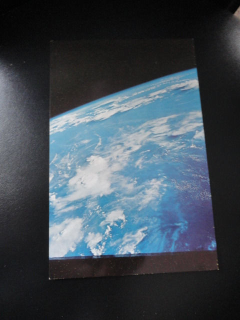 Vtg 60's NASA Postcard Collector's Item 109 This is how the earth looks
