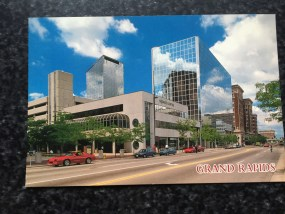 Vtg Postcard Uncirculated Unposted Grand Rapids Largest City in West Michigan