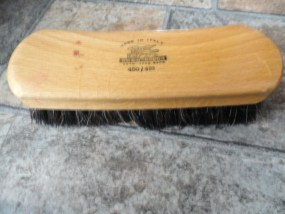 "Vtg ACCA KAPPA RGTD TRAD MARK Shoe Brush Made in Italy 450/418 7""x2"""