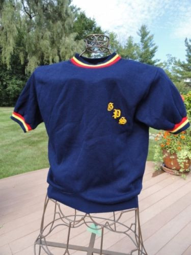 Vintage 1970 Grosse Pointe South High School Gym Sweatshirt Ex Cond M Champion