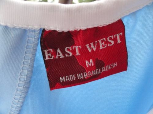 Women's 2 EAST WEST Tennis Shirts Tops Embroidery Floral Preown M Ex Cond