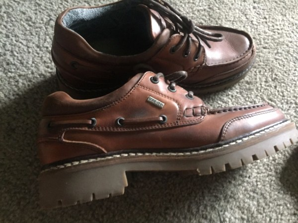 Men's Johnston and Murphy Leather Gortex Lace Up Boots Brown Size 8 M NWOT