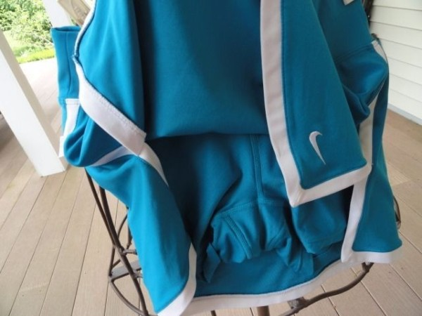 Women NIKE DRI-FIT Tennis Skirt Skort XS Blue White NWOT