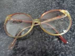 Vintage 1960's Round Eyeglasses Design End Pieces Mod Retro Cool MAINSTREET 205