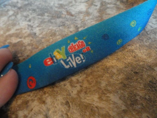EBAY LIVE 2008 Chicago New Conference AT-A-GLANCE LANYARD Official Pass