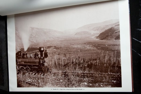William Henry Jackson's Rocky Mountain Railroad Album: Steam and Steel Book