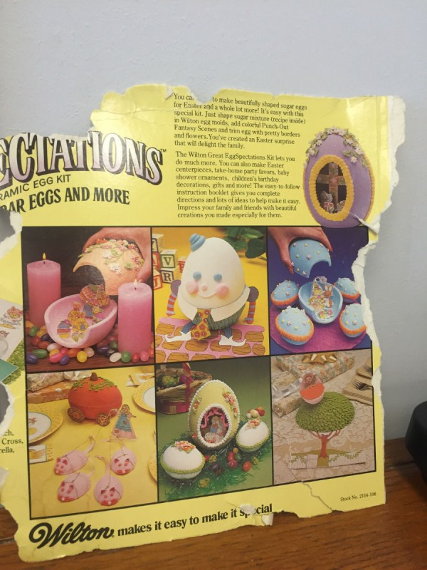 "1971 Wilton Egg Spectations Kit Party Cake Pan #1404-1016 25""x22"" All Included"