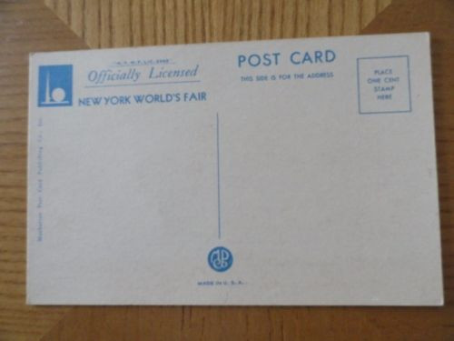 Vtg F70 Four Victories Of Peace New York World's Fair 1939 Linen Post Card 2443