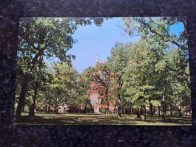 Vintage Postcard Unposted JESSE PRESTON DRAPER MEMORIAL BEREA College Kentucky