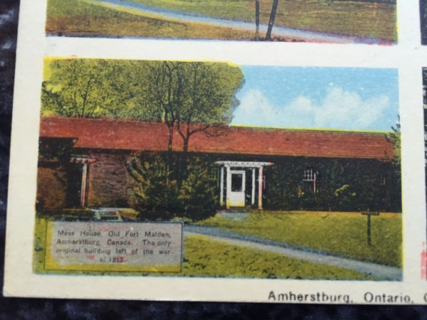 Vintage Postcard Uncirculated Unposted Amherstburg, Ontairo. Canada---5