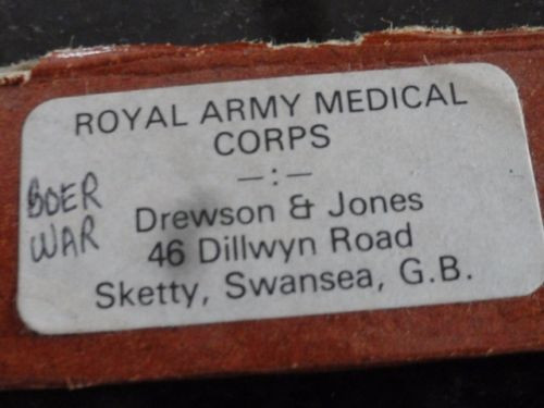 Vtg Drewson & Jones BOER WAR 5 Toy Soldiers ROYAL ARMY MEDICAL CORPS BRITISH