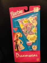 Barbie Dreamwear Fashions 1992 Mattel NIP Nightwear Lingerie Phone Picture