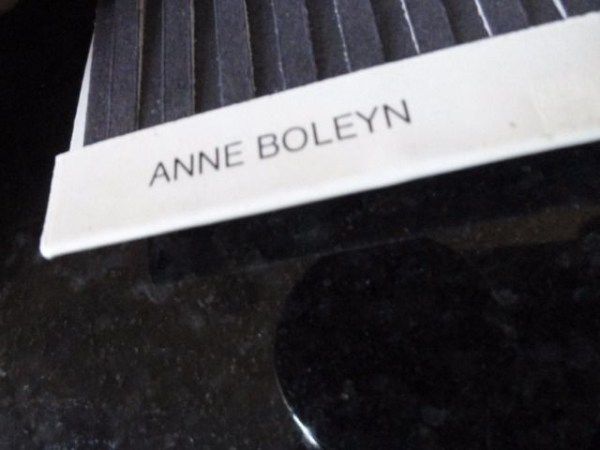 Vintage Anne Boleyn VENTURE MATCHES LTD Designed by Kailer Lowndes England New